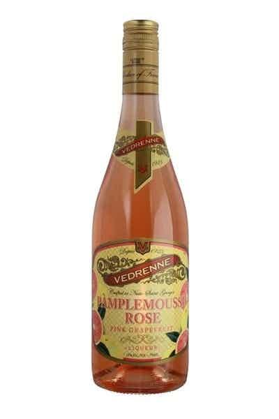 Vedrenne Pamplemousse Rose Pink Grapefruit Liqueur