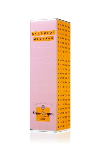 Veuve Clicquot Rose Message