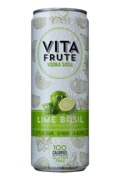 Vita Frute Lime Basil Vodka Soda