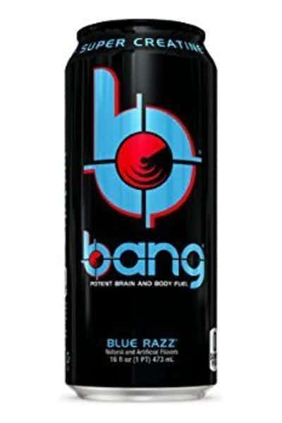 Bang Blue Razz Energy Drink