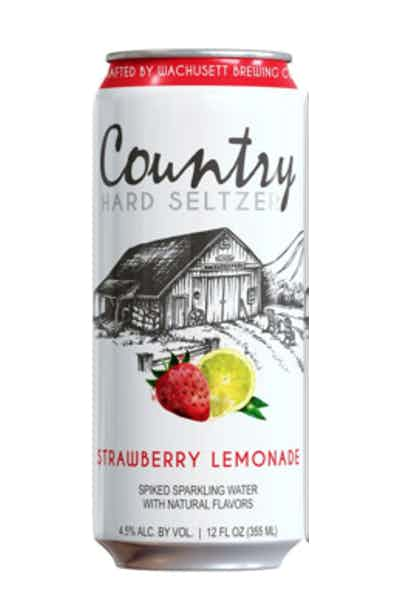 Wachusett Country Hard Seltzer Strawberry Lemonade