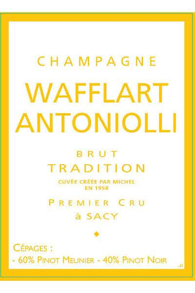 Wafflart Antoniolli Brut Tradigtion 1er Cru
