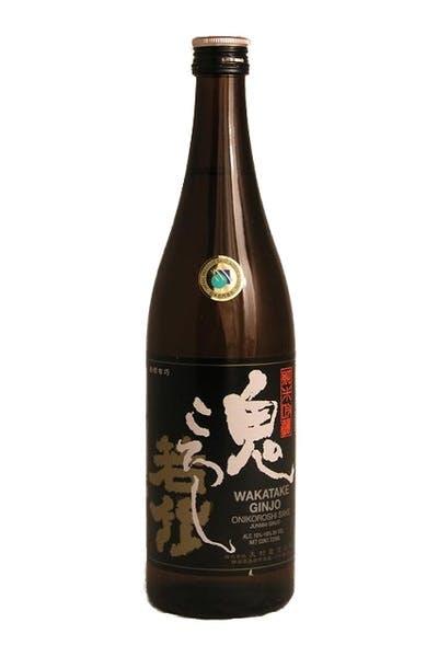 Wakatake Onikoroshi Ginjo Sake