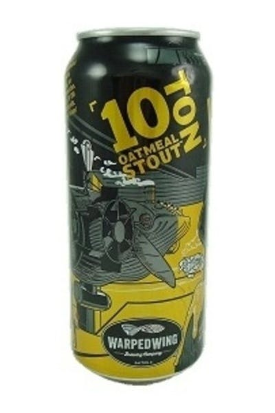 Warped Wing 10 Ton Oatmeal Stout