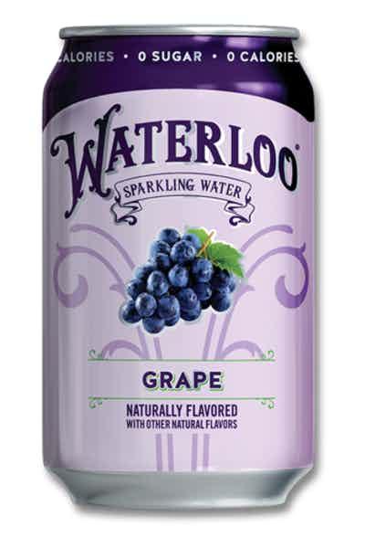 Waterloo Grape Sparkling Water