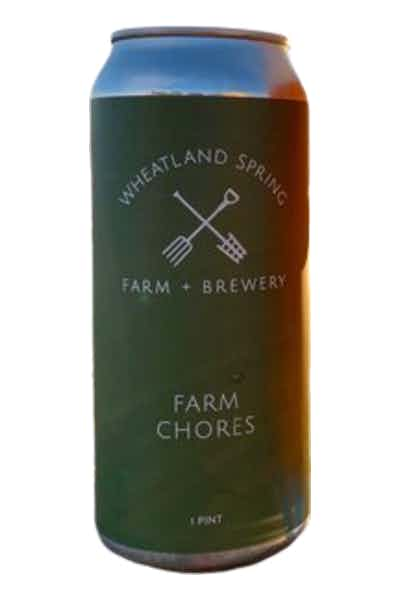 Wheatland Spring Farm Chores Wheat Ale
