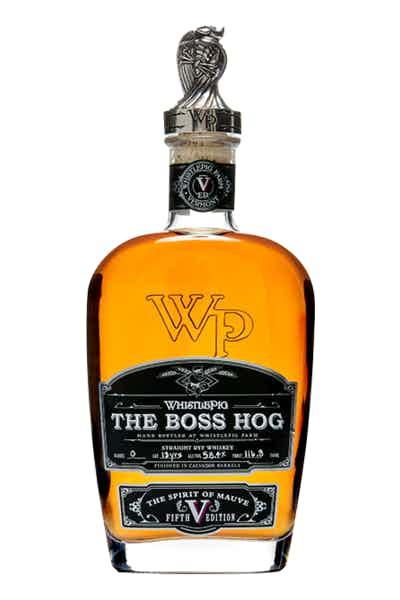 Whistlepig Boss Hog V: The Spirit of Mauve