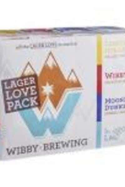 Wibby Brewing Lager Lover Variety Pack