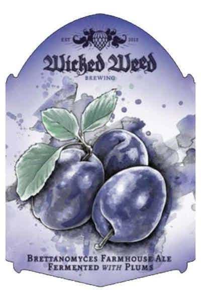 Wicked Weed Brewing Le Bonte Plum