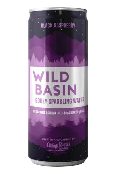 Wild Basin Black Raspberry Boozy Sparkling Water