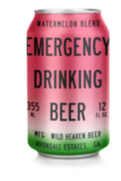 Wild Heaven Emergency Drinking Beer Watermelon Blend