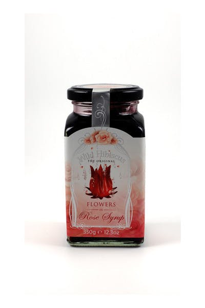 Wild Hibiscus Flowers Rose Syrup