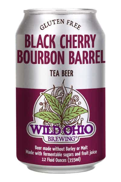 Wild Ohio Black Cherry Bourbon Barrel Tea Beer