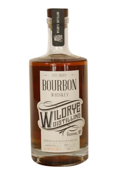 Wildrye Five Drops Montanta Bourbon Whiskey