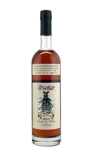 Willett Family Estate Bottled Rye Aged 6 Years