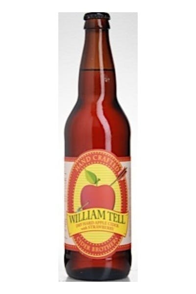 William Tell Strawberry Cider