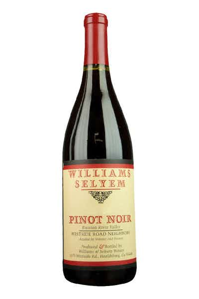 Williams Selyem Pinot Noir Westside Road Russian River Valley