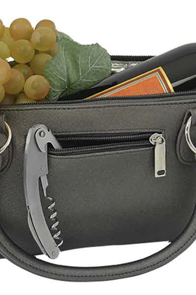 Wine Clutch Grey Matte