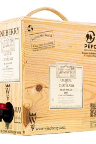 Wineberry Box Chateau de Chatelard Red