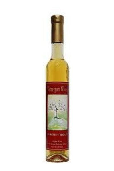 Winter Gold Ice Apple Wine