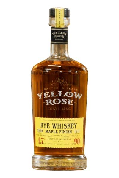 Yellow Rose Maple Rye Whiskey